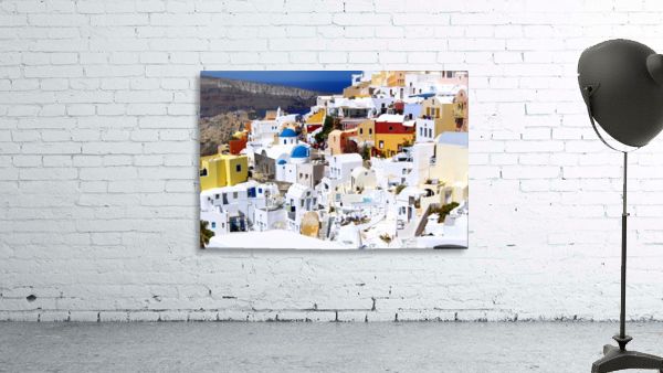 Colours of Santorini