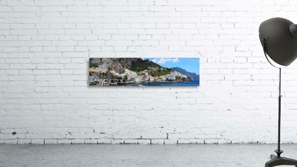 Super panoramic Amalfi City - Italy