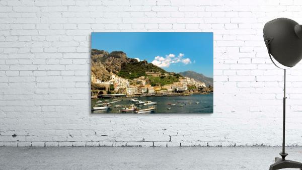Amalfi Town - Panoramic View - Italy