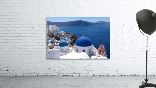 Amazing Santorini Landscape