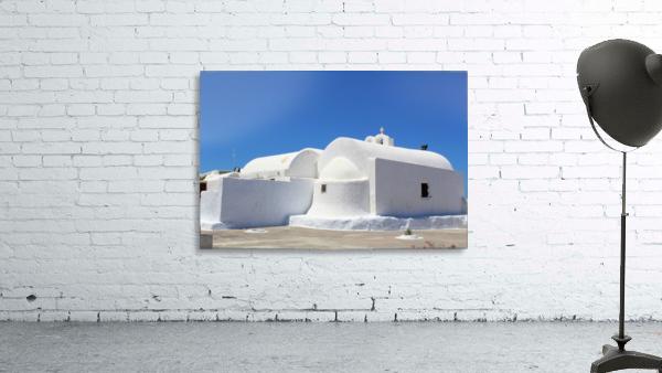 White Church -Santorini Island -  Greece