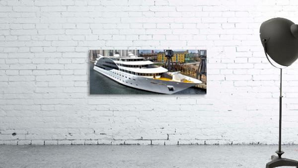 Cruise ship - Super Panoramic