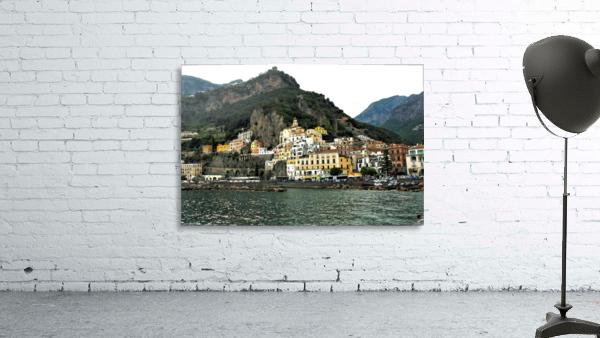 Italian Village Landscape - Amalfi