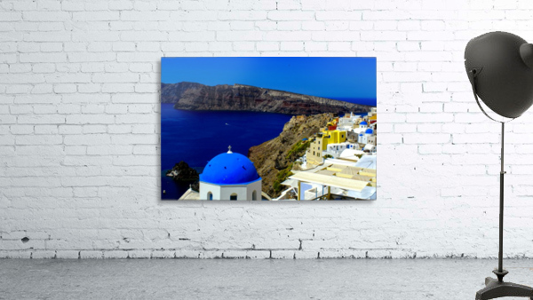 Santorini  - Super Colorful Landscape