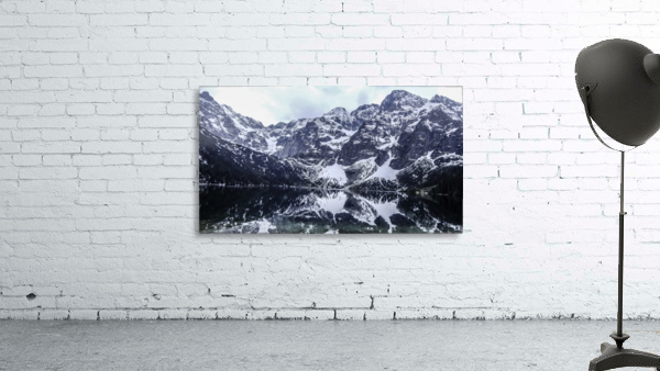 Mountains in the Lake