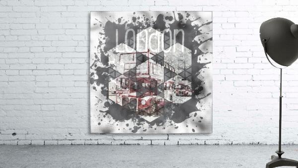 Graphic Art LONDON Streetscene