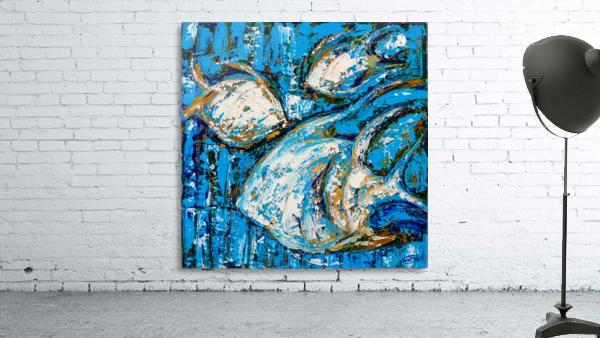 Flow Of Dreams-2 - 18 inch x 18