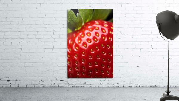 Fresh strawberry close-up