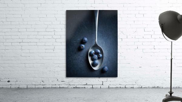 Blueberries on spoon Still Life