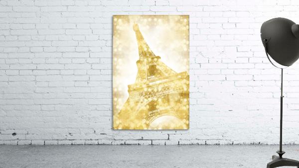 EIFFEL TOWER   golden illusion