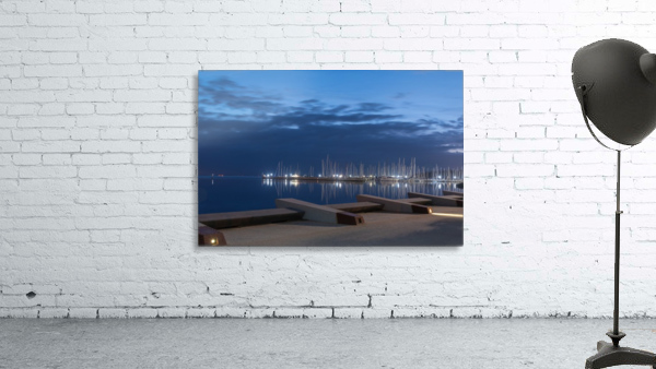Blue Pre Dawn Marina