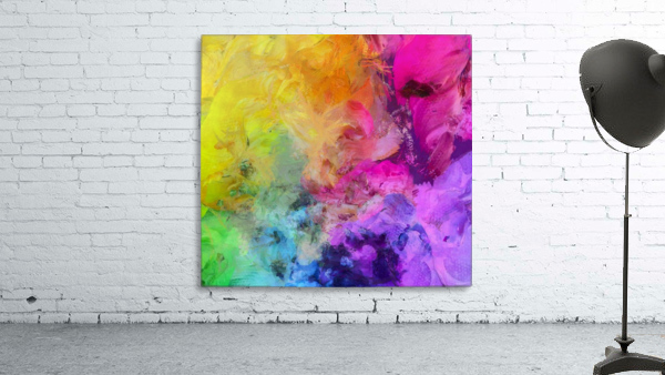 Bright Colorful Abstract Painting