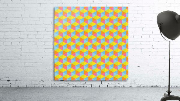Hexagon Seamless Pattern Artwork