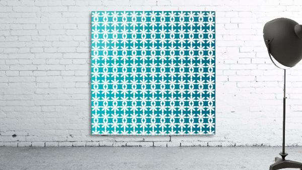 Floral Gradient Seamless Pattern Artwork