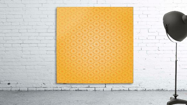 Orange Seamless Pattern Art
