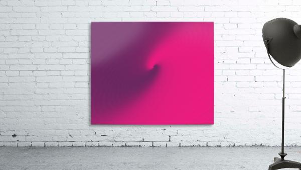 Abstract Purple & Blue Art