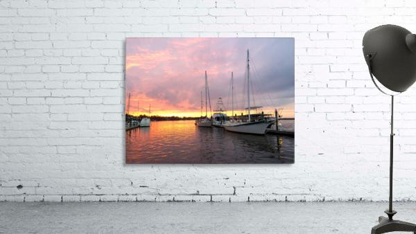 Sunset Sailboat 2