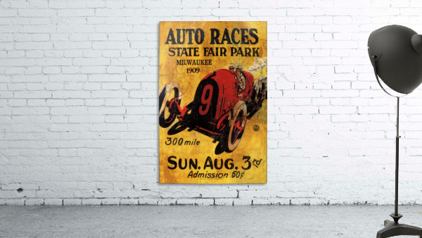 Milwaukee 300 Mile Auto Races State Fair Park 1909