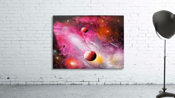 Fish galaxy