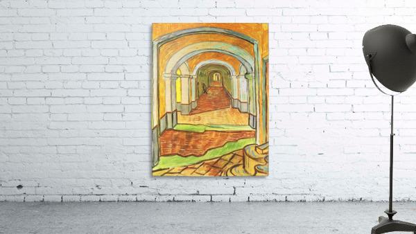 Corridor in Saint-Paul Hospital by Van Gogh