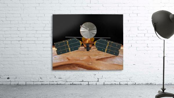Artists concept of the Mars Reconnaissance Orbiter.