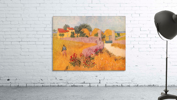Farmhouse in Provence by Van Gogh