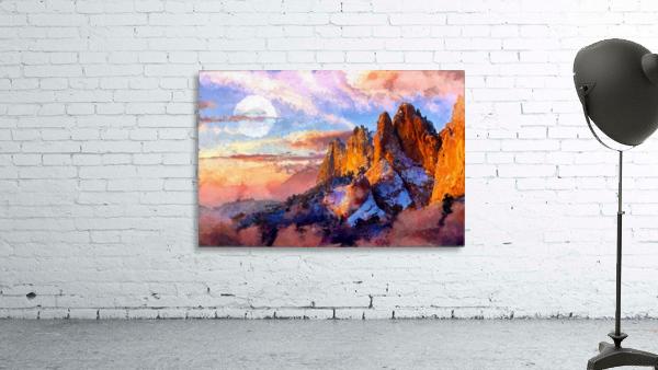 Colorado Mountains - Digital Painting III