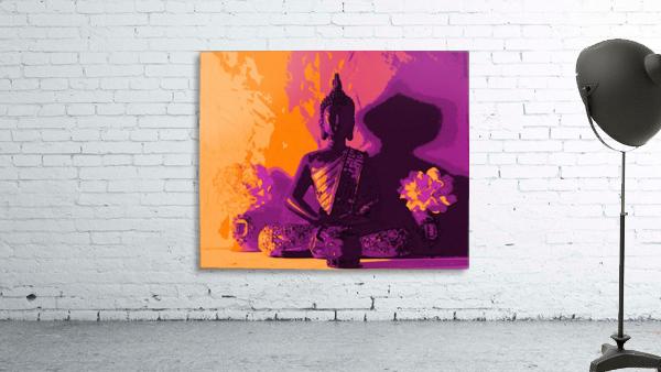 Buddha Altar -- Sunset Colors