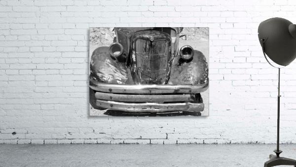 Rusty Old Truck B&W