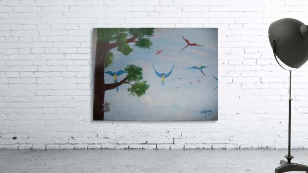 Macaw family