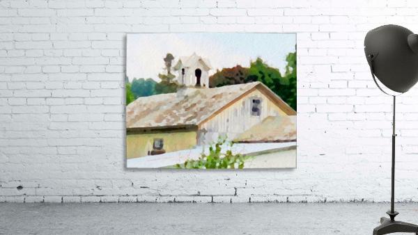 Cummington Barn Roofs