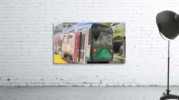 MBTA Green Line Trolly