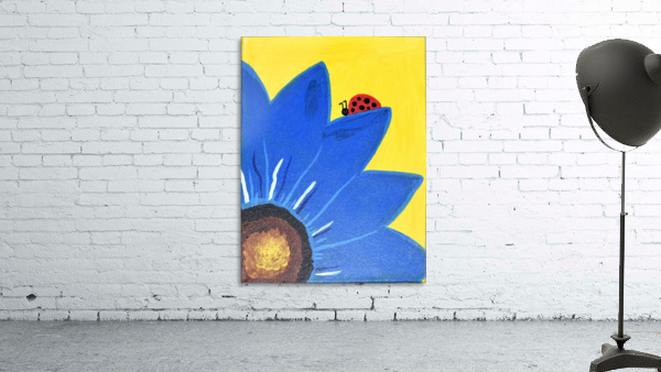 Blue Lady Bug. Maggie Z