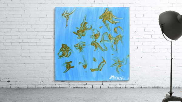 Gold and Blue. Marnie P