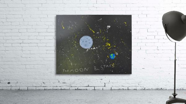 Moon and Stars. David R