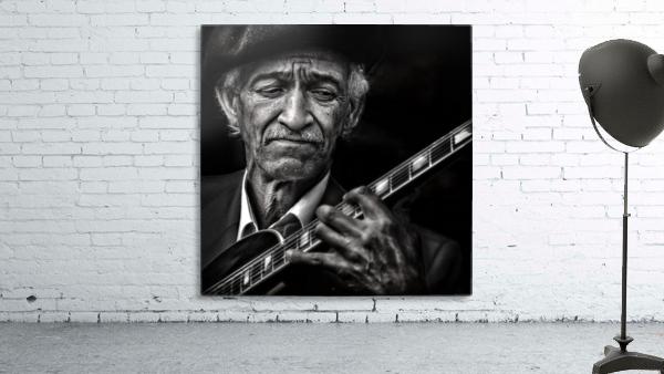 the guitarist