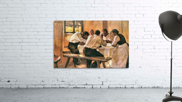 Lunch by Albin Egger-Lienz