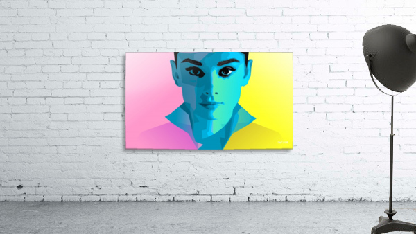 Pop Art Audrey Portrait
