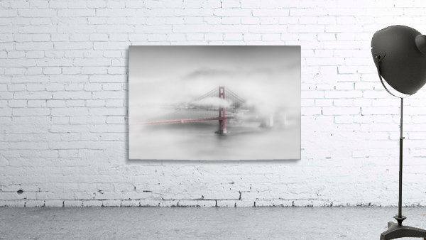 Foggy Golden Gate Bridge   colorkey