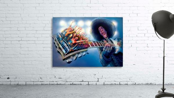 Jimi Hendrix by Krzysztof Grzondziel