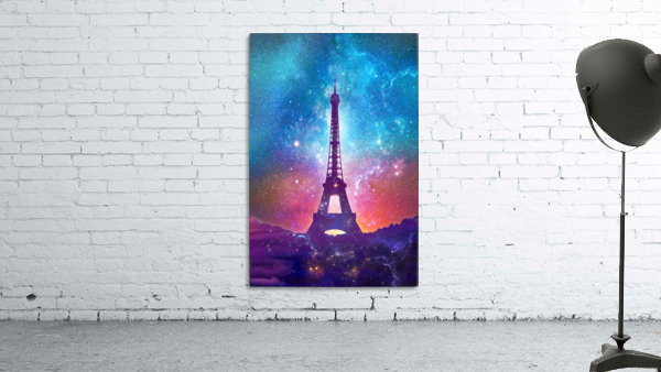 Eiffel Tower - Milky Way Collage