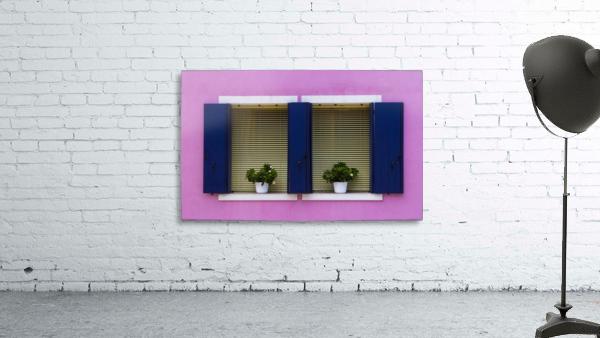 Windows in Burano