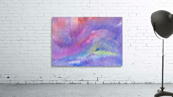 Abstract Mauve wave