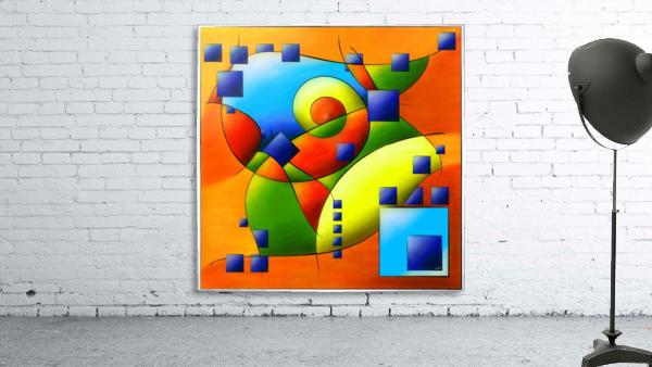 Fantisimella - colourful birdy abstract