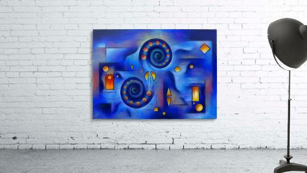 Grefenorium - blue spiral world