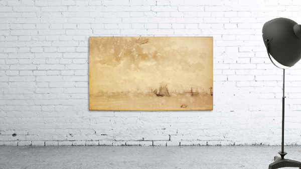 Seascape, a grey note by Whistler