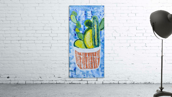 Bluebonnet cactus. Molly H