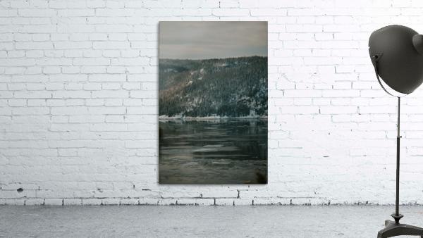 Le fjord du Saguenay en hiver