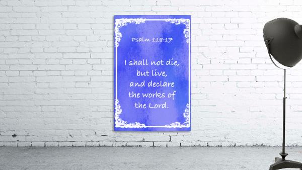 Psalm 118 17 8BL