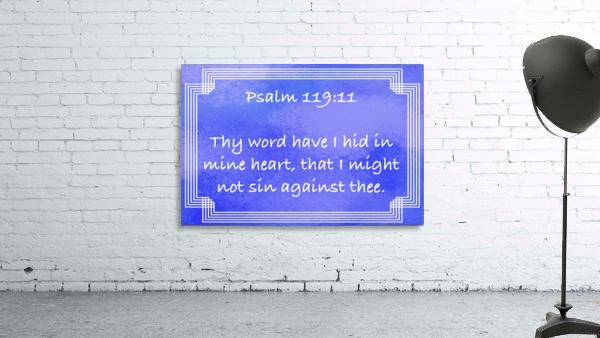 Psalm 119 11 2BL